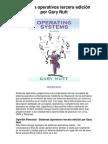 Sistemas operativos tercera edición por Gary Nutt - Averigüe por qué me encanta!