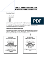12-International Institutions and Role in International Business