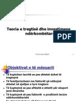 Teoria e tregtisë dhe investimeve ndërkombëtare