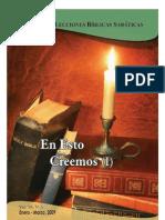 2009-1 en Esto Creemos I