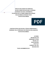 Proyecto Factible de Estructura Para Hacerle Las Correcciones