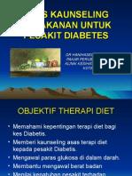 Kaunseling Diet Diabetes