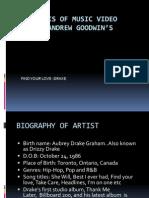 ANALYSIS OF MUSIC VIDEO USING ANDREW GOODWIN'S THEORY main