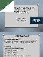 Herramientas y Maquinas (Taladro)