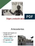 evolucion de la lengua española