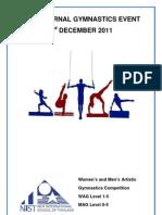 NIST Internal Gymnastics Event 2011