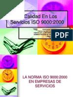 La Calidad en Los Servicios Iso 9000168