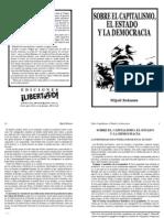 Sobre el capitalismo el Estado y la democracia - Bakunin