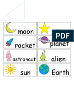 Space Words for Writing