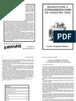 Revolución y contrarrevolución en Cataluña - C. Semprun Maura