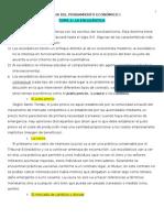 Apuntes Hª Pensamiento Eco.I