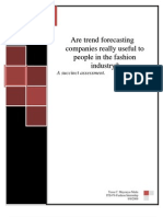 Are Trend Forecasting Companies...Report