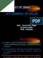 13º LEY GENERAL DE SALUD