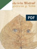 Gabriela Mistral - Magisterio y niño