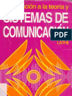 Lathi b p - Introducción a La Teoría de Sistemas de Comunicación