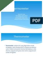 TUGAS TERMO Macam-macam Termometer