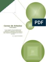 Censo Arbolado Urbano Georeferenciado