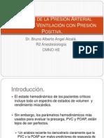 Variación de la Presión Arterial Durante la Ventilación