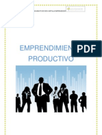 CARTILLA EMPRENDEDOR PRODUCTIVO