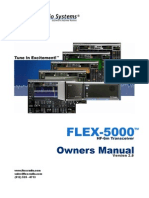 FLEX-5000 Owners Manual v2.0