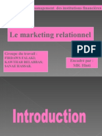 Le marketing relationnel (PPT)
