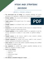 Information and Strategic Decision (Uas)