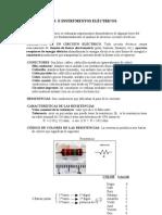 COMPONENTES E INSTRUMENTOS ELÉCTRICOS