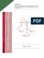 2010 Prosecutors Manual