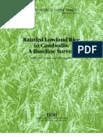 IRPS 152 Rainfed Lowland Rice in Cambodia