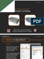 Rhino to Ecotect
