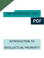 5. Patent Act