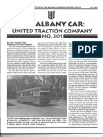 United Traction Co. #301 Prototype Car