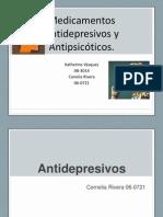 antidepresivos y antipsicóticos