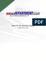 Race 07 Car Skinning Tutorial