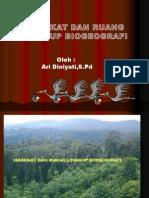 BIOGEOGRAFI - PERTEMUAN 1