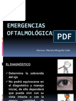Emergencias oftalmológicas