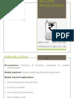 m Cash Application