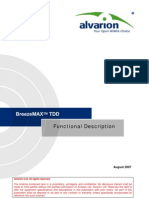 BreezeMAX TDD Functional Description 070727