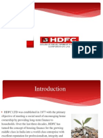 Final Ppt of HDFC for College