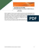 Civil 3D 2008 - Definicion Sistema de Coordenadas