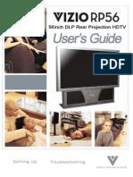 Vizio Rp46 Manual