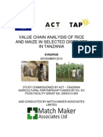 TAP Rice & Maize Synopsis Nov 2010