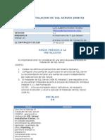 Instalacion de SQL Server 2008 R2
