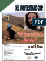 1volante II Semana Del Universitario 2011 1 Piura(1)