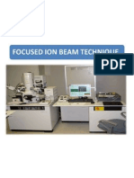Focused Ion Beam Microscopy