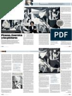 Picasso, Guernica y pintores. Por Ramiro Llona