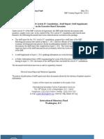 Article IV Consultation 2011 UAE