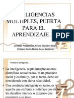 Las Inteligencias Multiples Ponencia 27.10.07