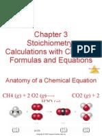 CH 3 stoichiometry