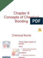 CH 8 Chemical Bonding